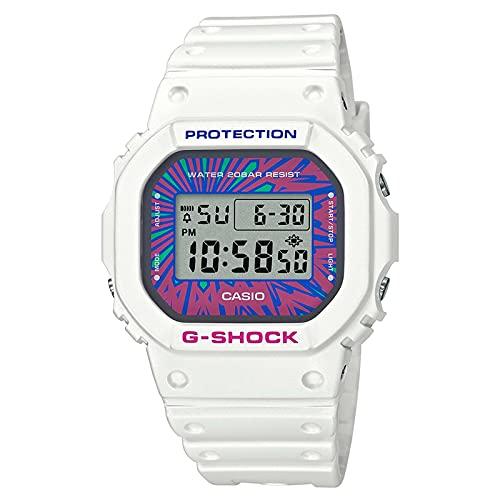 Casio G-Shock digitale quadrante multicolore orologio bracciale in resina DW-5600DN-7ER