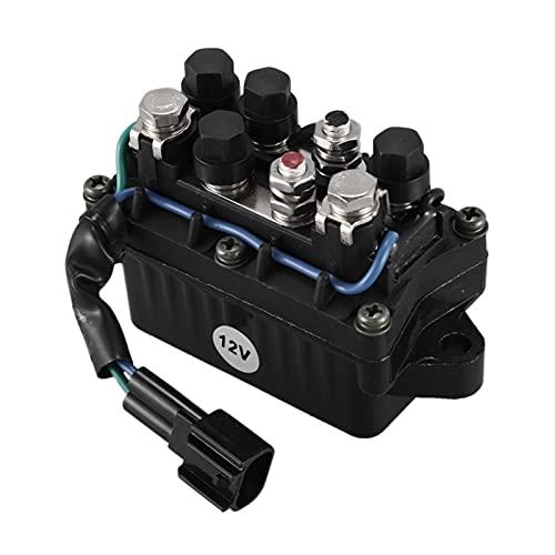 Huajin Relay Assy 63P-81950-00-00 FIT FOR para Yamaha Motor OUTBEARD 4 Motor DE Tuza F 20-250HP (Color : Black)