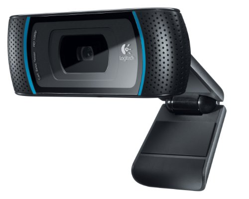 NEW Logitech HD Pro Webcam C910 (Cameras & Frames)