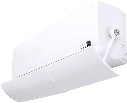 エアコンディフレクター、アンチストレートブローウォールマウントバッフル、テレスコピック調節可能風向板、家族用、寝室、オフィスZDDAB