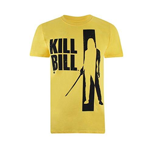 Kill Bill Silhouette Camiseta, Amarillo...