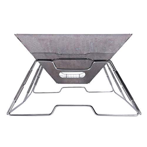 41QsQQTXL5L. SL500  - Outdoor Grill Grill Rack Folding Edelstahl Tragbare Wohnküche Camping Kochutensilien, Grillzubehör