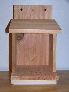 Cedarnest 1 Robins, Doves, Cardinals Nesting Shelve Platform Handmade Free S/h