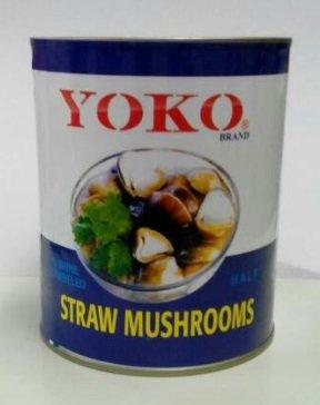 横浜中華街・業務用・YOKO・ふくろたけ・草茹・袋茸(ソークー)ハーフカット・2号缶・800g(固形量450g)、高級草茹缶詰め♪