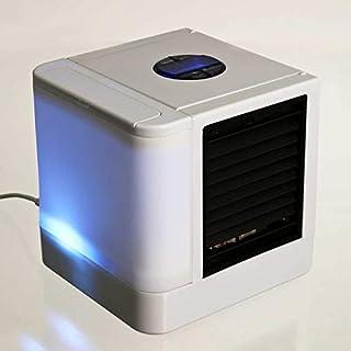 XGP Mini USB Aire Acondicionado portátil Refrigerador de Aire Humidificador Purificador 7 Colores Luz LED Ventilador de enfriamiento de Aire de Escritorio para el hogar de la Oficina Nuevo