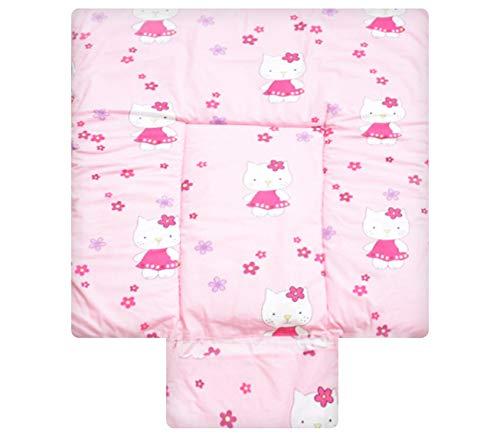 Best for Kids Matelas a Langer spécial Cuddly Soft 100% Coton Tapis de Table a Langer 3 en 1 au Format 70x50 au Standard Öko Tex