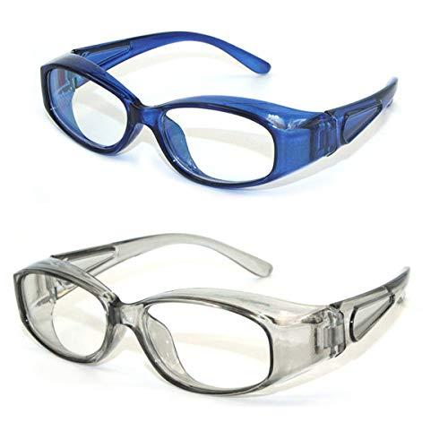 Gafas de seguridad para niños Anti-niebla Gafas de seguridad anti-polen Ojo protector Ojo anti-azul Protección de ojos con escudos laterales Gafas para niños y niñas y niños