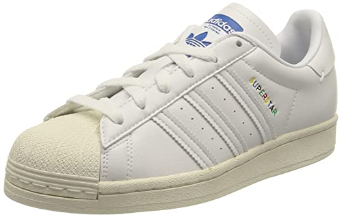 adidas Superstar, Sneaker Mujer, Cloud White Cloud White Off White, 43 1/3 EU