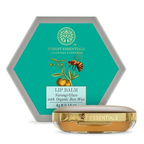 Forest essentials Luscious Lip Balm Narangi Glaze 4g