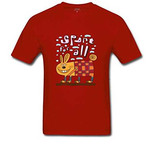Spart para todos los del hombres verano Casual T shirt