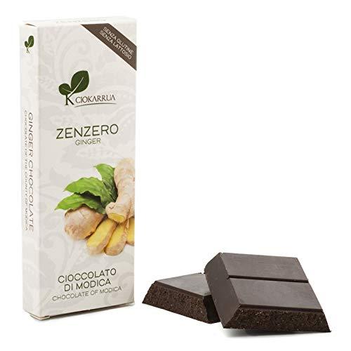 Cioccolato di Modica Zenzero 100 gr.