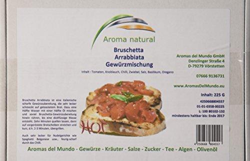 Aroma natural Bruschetta Arrabbiata, 2er Pack (2 x 225 g)