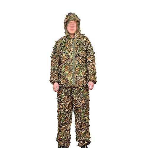Ahornblatt Camouflage/Outdoor Leaf Camouflage/Bionic Camouflage Set/Waldjagdanzug