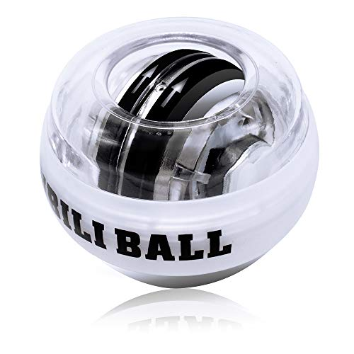 Auto-Start Wrist Trainer Wrist Ball High Quality Wrist Muscle Wrist Ball Gyro Arm Exerciser Strengthener LED Fitness Ball