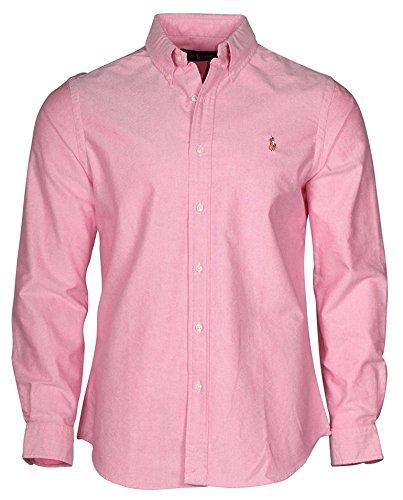 Polo Ralph Lauren Herren Classic Fit Oxford Longsleeve Buttondown Shirt Gr. XS, New Rose