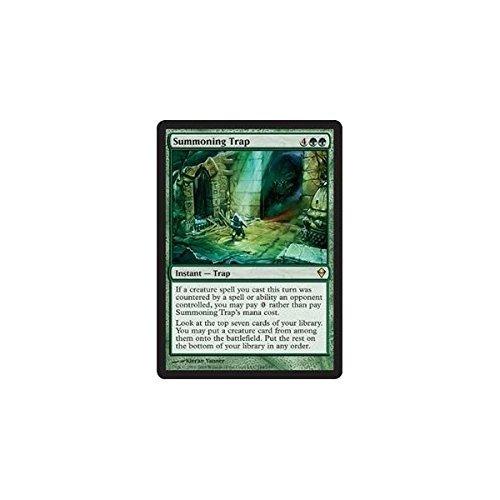 Magic The Gathering - Summoning Trap (184) - Zendikar