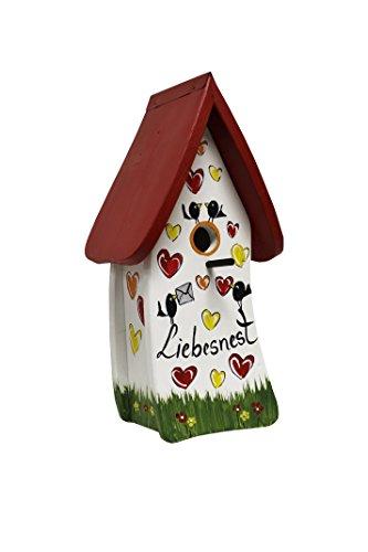 Die Vogelvilla, Nistkasten Spezial Liebesnest Brief, Vogelhaus
