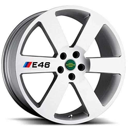 Accesorios para calcomanías de llantas y rines de coche para 1 3 5 Series X1 X5 X6 M3 M5 E30 E34 E36 E39 E46 E60 E90