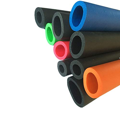 N\A 1M Lagging Tubo de aislamiento térmico Fitness Mango Esponja Anti-colisión aislamiento espuma tubo envoltura