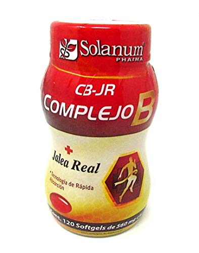 Complejo B + Jalea real 120 softgels Solanum Pharma