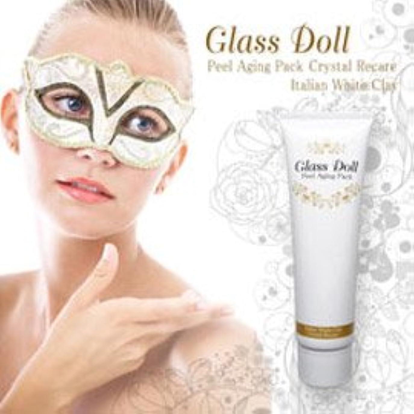 必要ないピラミッド留め金Glass Dollグラスドール