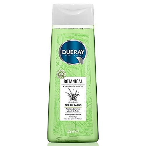 Queray Champú Botanical Sin Sulfatos Aloe Vera Camomila - 360 ml.
