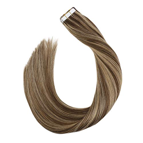 Ugeat Highlight Colored Marron Rubio Remy Tape in