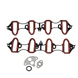 Vincos Intake Manifold Gasket Ms92211 Ms18007 Ms4657 Ms16340 Compatible with Tahoe...