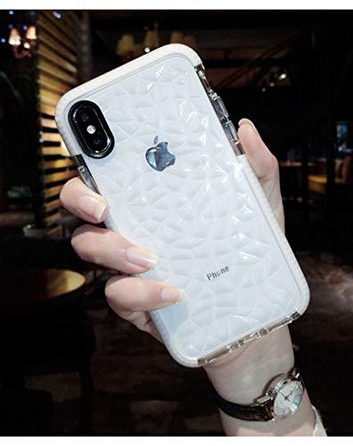ZFLL Funda para teléfono móvil Funda para Jelly Phone Case para iPhone X XR XS MAX Soft TPU Transparent Funda Transparente a Prueba de Golpes para iPhone 7 8 6 6s Plus-para iPhone XR-3