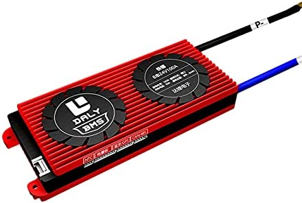 Monland Inteligente BMS 8S 24V 100a Li-Ion LiFePo4 Placa de ProteccióN de Batería con Blutooth / 485 / Can para Paquete de Batería de Litio