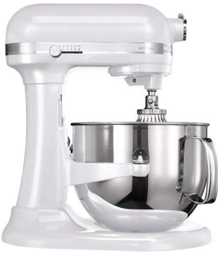 KitchenAid 5KSM7580X - Robot de cocina (Color blanco, Acero inoxidable, 50-60 Hz)