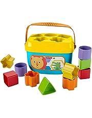 Fisher-Price GYM46 Kleurrijk stapelbeker van Fisher-Price ontwikkelingsbevorderend speelgoed