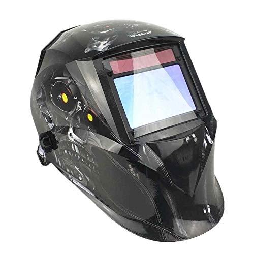 Lasmasker lashelm 100 * 65mm 1111 4 sensoren slijpen DIN 3/4-13 MMA MIG/MAG TIG CE/UL/CSA/AS Cert Solar Auto donker lassen masker Robot Skull