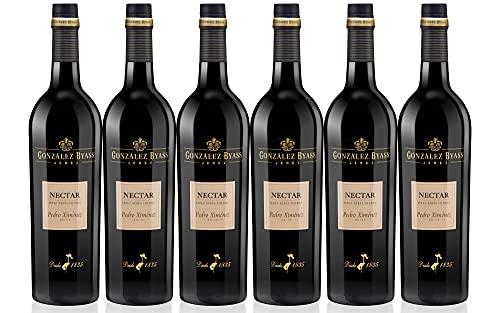 Nectar P.X. - Vino Dulce D.O. Jerez - 6 Botellas de 750 ml - Total: 4500 ml
