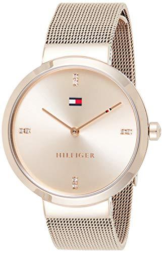 Tommy Hilfiger Reloj Analógico para Mujer de Cuarzo con Cor
