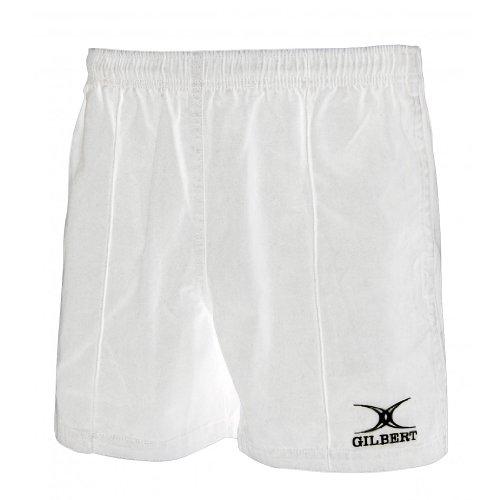 Bermuda de Rugby Gilbert Kiwi Pro, Branco, 2 X Small