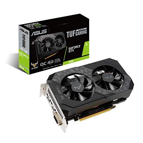 ASUS NVIDIA GeForce GTX 1650 搭載 デュアルファンモデル 4GB TUF-GTX1650-O4GD6-P-GAMING