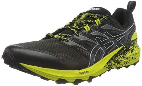Asics Gel-Trabuco Terra, Trail Running Shoe Hombre, Graphite Grey/White, 46 EU
