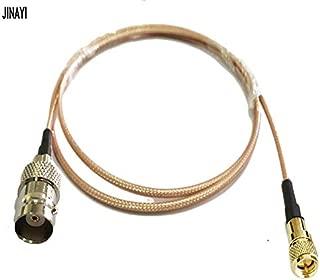 Gimax Microdot Compatible M5 Male to BNC Female Connector 10-32 UNF Vibration Acceleration Sensor Test RG316 Cable 1m 3m 5m 10m - (Color: 1m)