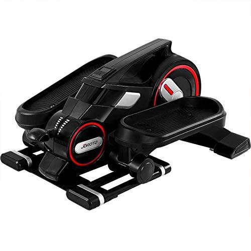 LJYY Mini ellittica da Allenamento Bluetooth con App, ellittica Passo-Passo per Cyclette per Esercizi in Ufficio a casa, pedaliera per Esercizi fisici sul Posto di Lavoro