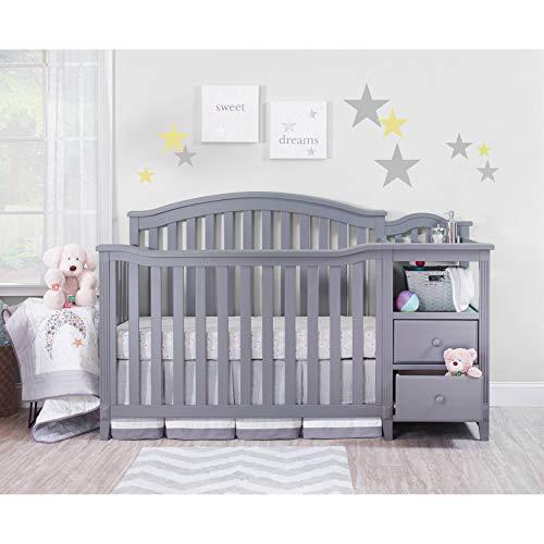 Sorelle Berkley Crib & Changer, Gray (3350-GR)