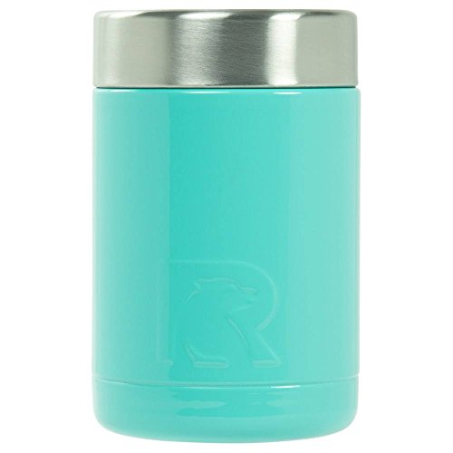 RTIC Double Wall Vacuum Insulated Can Cooler, 12 oz, Teal