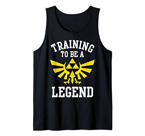 Zelda Training To Be A Legend Royal Crest Tank Top