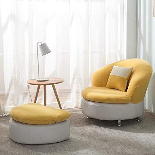OPXZPM sofá Perezoso Sofá Perezoso, apartamento pequeño Individual, Creatividad Moderna Simple, sofá pequeño Encantador, balcón de la habitación, Igual Que la imagen2