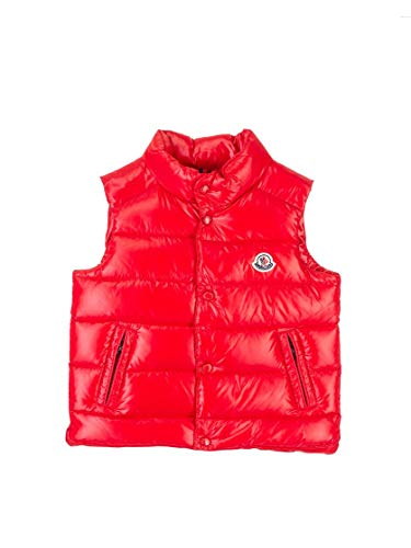 Moncler Luxury Fashion Baby 1A5270068950455 Rot Polyamid Weste | Herbst Winter 20