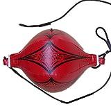 Doppelendball Boxen, Gusspower Leder PU Doppel-ende Boxing Speedball, MMA Punching-Ball inkl...