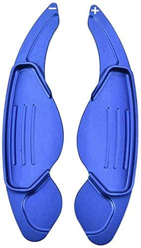 HAHASGAuto Lenkrad Paddel Zubehör, Für Jaguar XF XE XJ F-Tempo F-Typ X760 X260 X761-blau