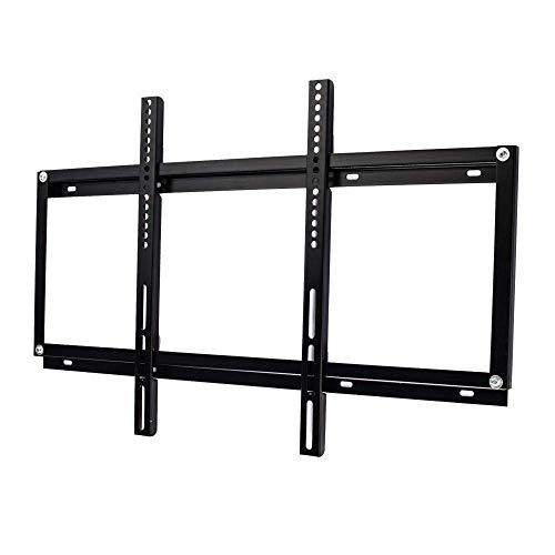 Soporte de pared para TV de acero inoxidable para la mayoría de los televisores de 42-65 pulgadas, soportes de pared para TV para la pared hasta 65 kg de altura inclinable ajustable, VESA máximo 675 x