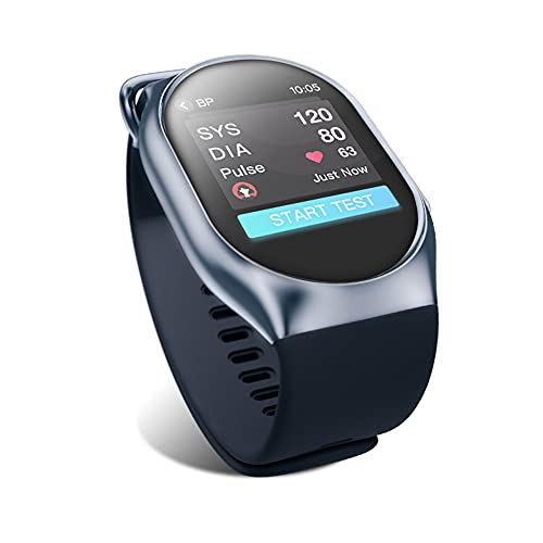 BP Doctor Smart Watch,Blood Pressure Monitor Medical Grade Accuracy,Fitness Tracker Blood Oxygen Heart Rate Variability Sleep Analysis App for iPhone Android Phone