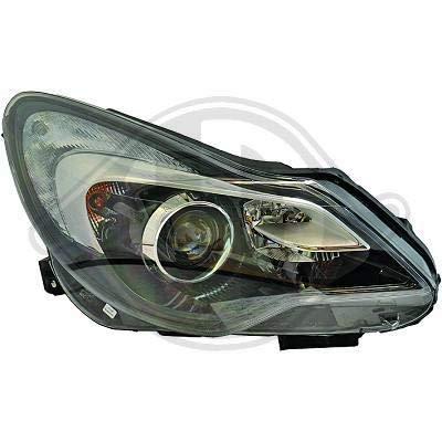 1814185; koplamp links (bestuurderszijde) voor O. Corsa D van 2011 tot 2014 originele look
